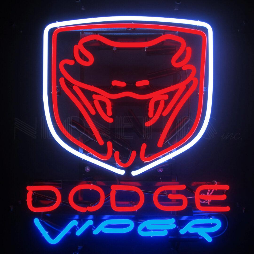 Auto Dodge Viper Neon Sign 5viper Neonetics